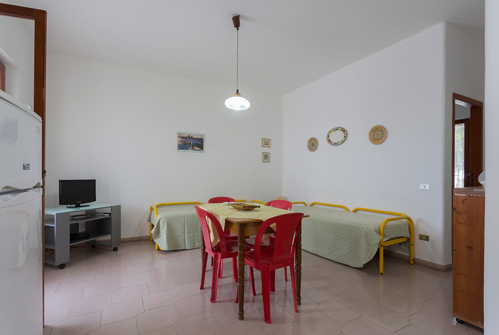 Rosso Tramonto Bilocale Piano Terra - San Vito Vacanze - San Vito Lo Capo